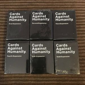 Cards Against Humanity 1-6 Expansion Set NEW